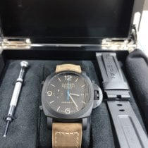 Panerai Luminor 1950 3 Days Chrono Flyback Keramiek 44mm Zwart Arabisch