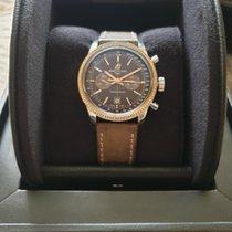 Breitling Transocean Chronograph 38 Stahl 38mm Braun Keine Ziffern