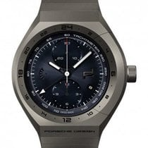 Porsche Design Monobloc Actuator Titanium 46mm Blue