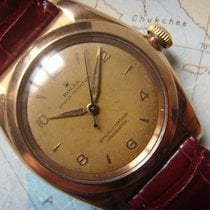 Rolex Red Gold  Oyster Perpetual Bubble Back Pink Gold Ref 3131