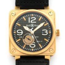 Bell & Ross Rose Gold Power Reserve Watch Ref. BR01-97