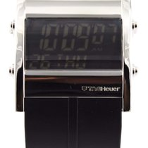 TAG Heuer Microtimer Cs111b.ft6003 Digital Rubber Swiss Watch