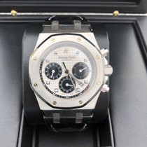 Audemars Piguet Royal Oak Chronograph Platin Schweiz, Courtepin