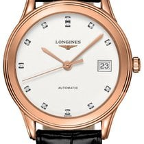 Longines Rose gold 35.6mm Automatic Flagship new