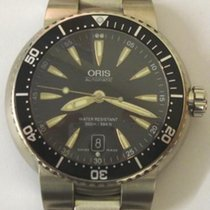 Oris 7533 Divers TT1 S/Steel Automatic Wrist Watch