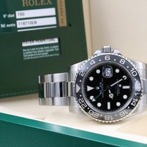 Rolex GMT-Master II 116710LN Box & Paper 2007