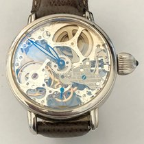 Krieger 43mm Manual winding 2009 pre-owned Transparent