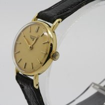 Longines 21mm Manual winding 1960 pre-owned Champagne