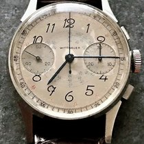 Wittnauer Chronograph Venus 150 Snail Dial Watch
