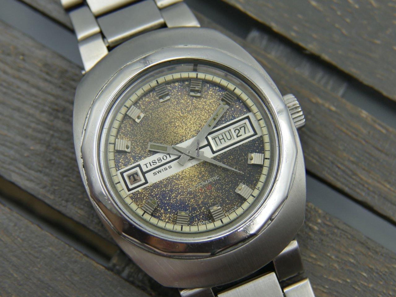 f9a917a1bbc Relógios Tissot usados - Compare os preços de relógios Tissot usados