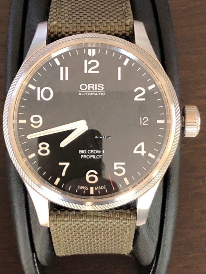 6d7f6112a1b1f Oris Big Crown ProPilot Day Date - all prices for Oris Big Crown ProPilot  Day Date watches on Chrono24