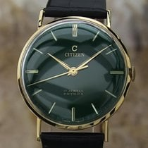 Citizen 33mm Manual winding 1960 pre-owned Green