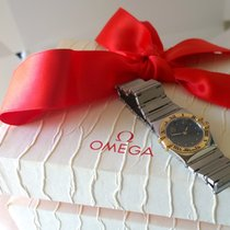 Omega Constellation Gold/Steel 27mm Black Finland, Imatra