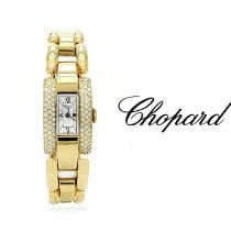 Chopard La Strada Or jaune 18mm Blanc Romain