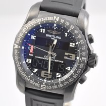 Breitling Cockpit B50 pre-owned 46mm Black Fold clasp