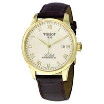 Tissot Gold/Steel 39.3mm Automatic T0064073626300 new