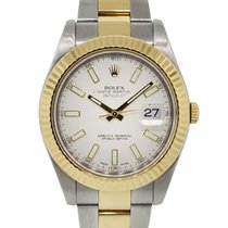 Rolex Gold/Steel 41mm Automatic Datejust pre-owned