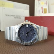 Omega Constellation Quartz Steel 33mm Blue