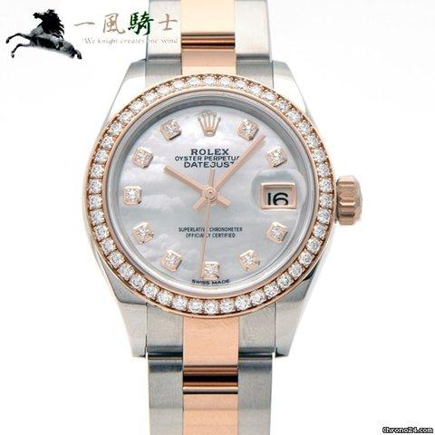 cheap for discount 0968e e2b96 Rolex レディ デイトジャスト 28 279381RBR
