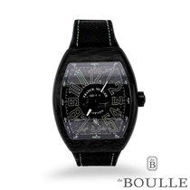 Franck Muller Vanguard Carbon 53.7mm Black Arabic numerals