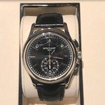 Patek Philippe Annual Calendar Chronograph Platinum 42mm Black No numerals