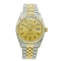 Rolex 16013 Gold/Steel 1980 Datejust 36mm pre-owned