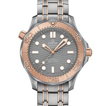 Omega Seamaster Diver 300 M 210.60.42.20.99.001 Ny Titan 42mm Automatisk