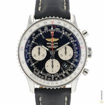 Breitling Navitimer 01 pre-owned 43mm Black Chronograph Date Leather