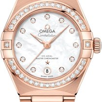 Omega 131.55.29.20.55.001 Rose gold Constellation 29mm new United States of America, Florida, Miami