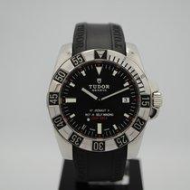 Tudor Hydronaut Steel 40mm Black No numerals