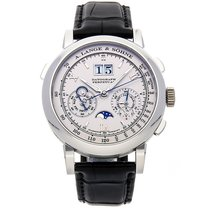A. Lange & Söhne Datograph Platinum 41mm Silver Roman numerals United States of America, Pennsylvania, Bala Cynwyd