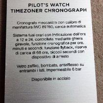 IWC 파일럿 크로노그래프 3950 신규