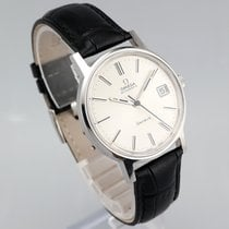 Omega Genève Steel 35mm Silver No numerals