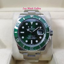 Rolex Submariner Date Steel 40mm Green No numerals Malaysia, Kuala Lumpur