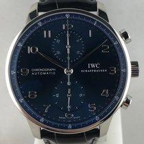 IWC Portuguese Chronograph Acciaio 40.9mm Blu Arabo Italia, Bologna