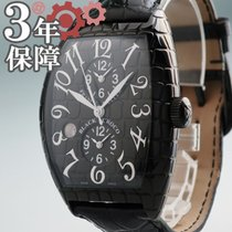 Franck Muller Steel 55mm Automatic 8880MB SC DT BLK CRO pre-owned