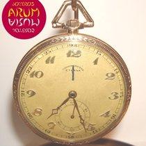 Eterna Reloj usados Oro amarillo 48mm Arábigos Cuerda manual Solo el reloj