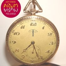 Eterna Watch pre-owned Yellow gold 48mm Arabic numerals Manual winding Watch only