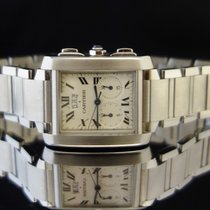 Cartier Tank Francaise Chronograph Stainless Steel