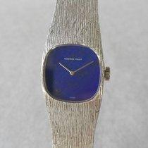 Audemars Piguet 18K White Gold Cal.2085 Ladies  Blue Mineral Dial