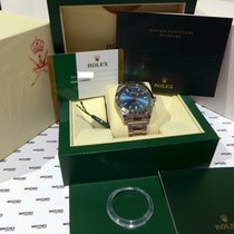 "Rolex Milgauss Oyster Perpetual ""Oman"" Logo Blue Dial..."