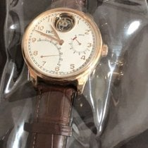 IWC Portuguese Tourbillon Rose gold 44.2mm White United States of America, California, Beverly Hills