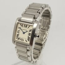 Cartier Tank Française Steel 20mm White Roman numerals United Kingdom, Shrewsbury