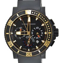 Ulysse Nardin Diver Black Sea Steel 45.8mm Black No numerals United States of America, New York, New York