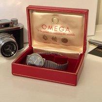 Omega De Ville Men's Dress watch blue dial Milanese bracelet +...