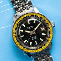 Philip Watch 39mm Automatic 1970 pre-owned Caribe Black