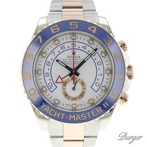 Rolex Yachtmaster II Rose Gold/Steel