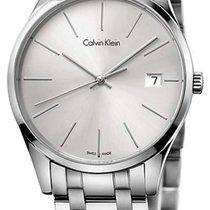 ck Calvin Klein Steel 36mm Quartz K4N23146 new