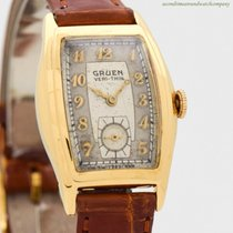 Gruen Gold/Steel 24mm Manual winding pre-owned United States of America, California, Beverly Hills