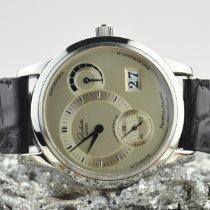 Glashütte Original 39.3mm Automatisch 2006 tweedehands PanoMaticReserve Zilver